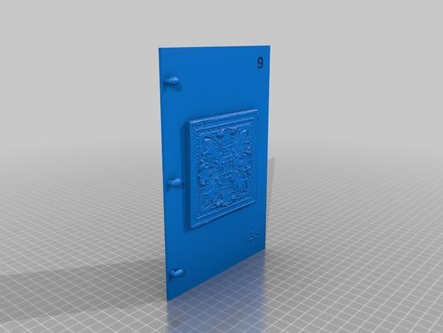 3D打印 盲文书 3D模型  图21