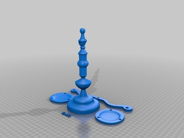 迷你天平 3D模型  图10