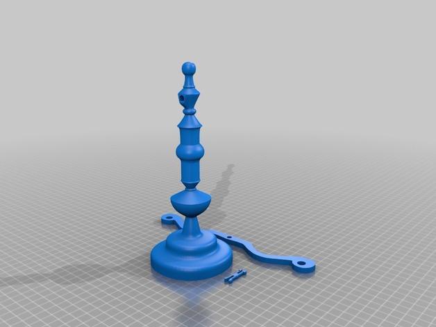 迷你天平 3D模型  图11