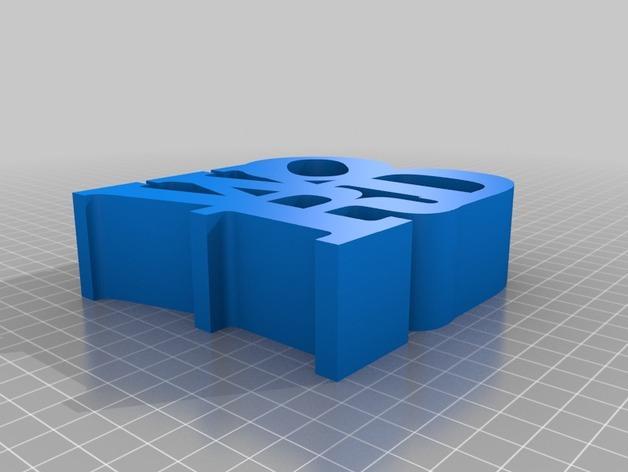 字母 雕塑模型 3D模型  图7