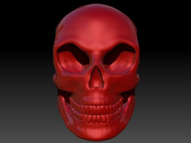 头骨 模型 3D模型  图7