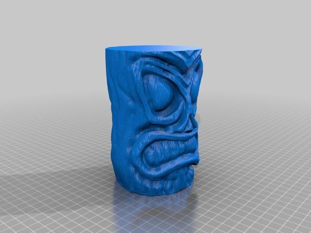 tiki 提基 马克杯 3D模型  图2