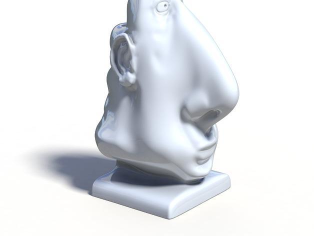 aka Wamba眼镜架 3D模型  图8