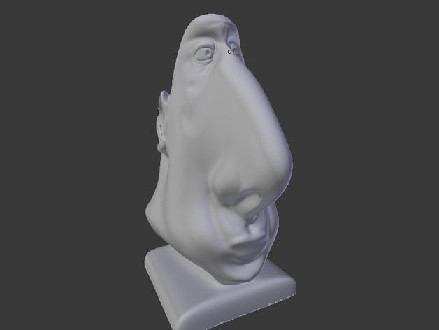 aka Wamba眼镜架 3D模型  图9