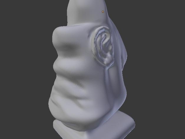 aka Wamba眼镜架 3D模型  图10