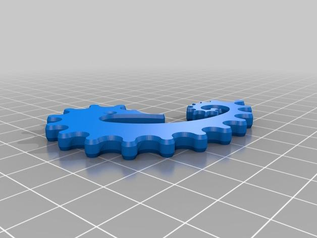 海马形齿轮 3D模型  图4