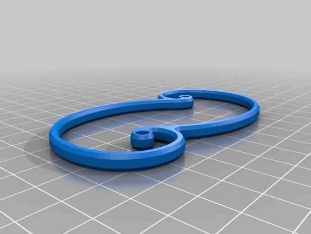 海马形齿轮 3D模型  图5