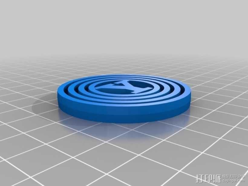 字母 平衡环 3D模型  图10