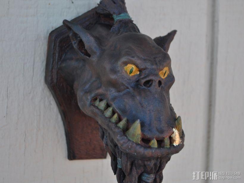 兽人 墙壁挂钩  3D模型  图1