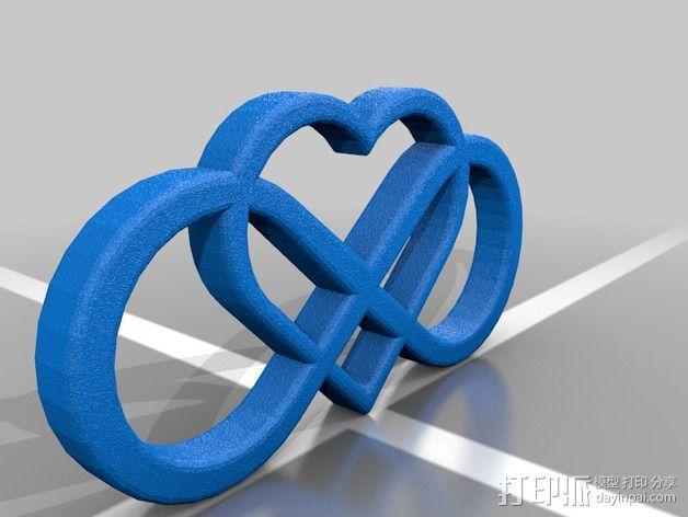无尽的爱 3D模型  图2