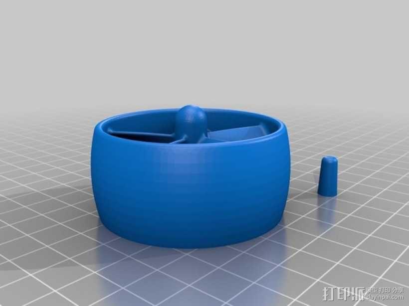 Dremel 电磨打磨头 3D模型  图1