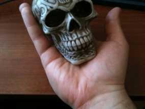 凯尔特人 头骨 3D模型
