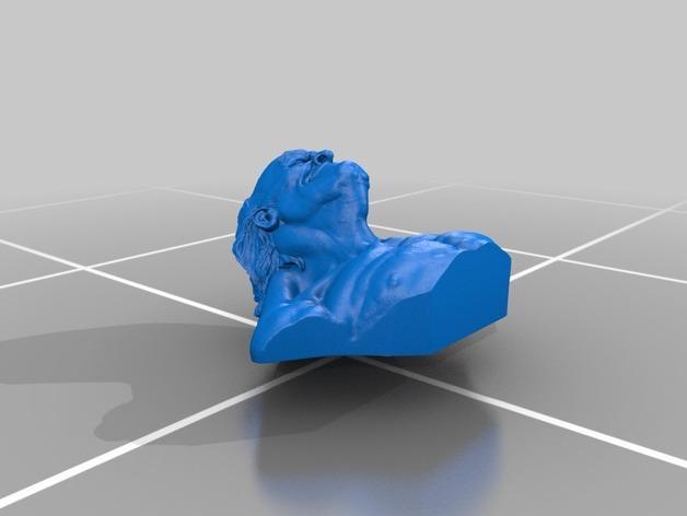 老怪物 雕像 3D模型  图2