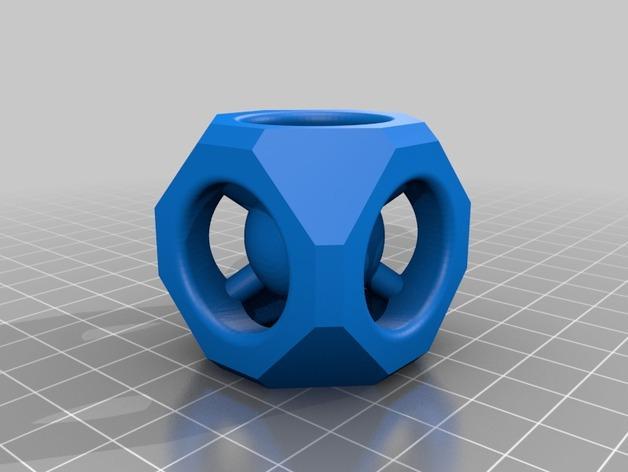 几何体和小球 3D模型  图2