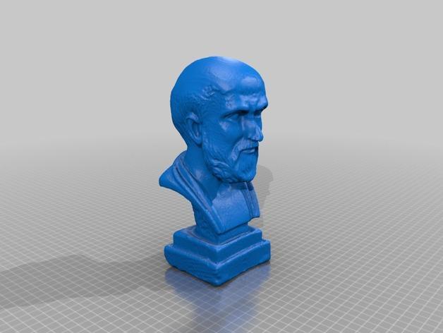 hypocrates 希波克拉底 3D模型  图2
