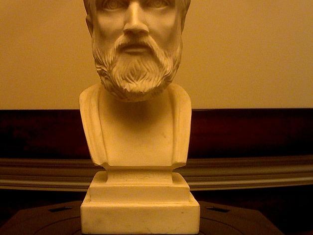 hypocrates 希波克拉底 3D模型  图1