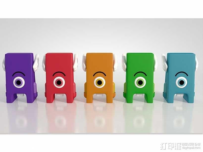 Toofie牙齿玩具 3D模型  图1