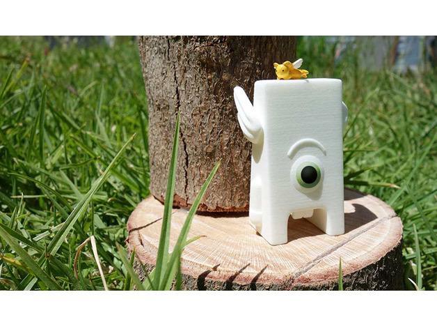 Toofie牙齿玩具 3D模型  图2