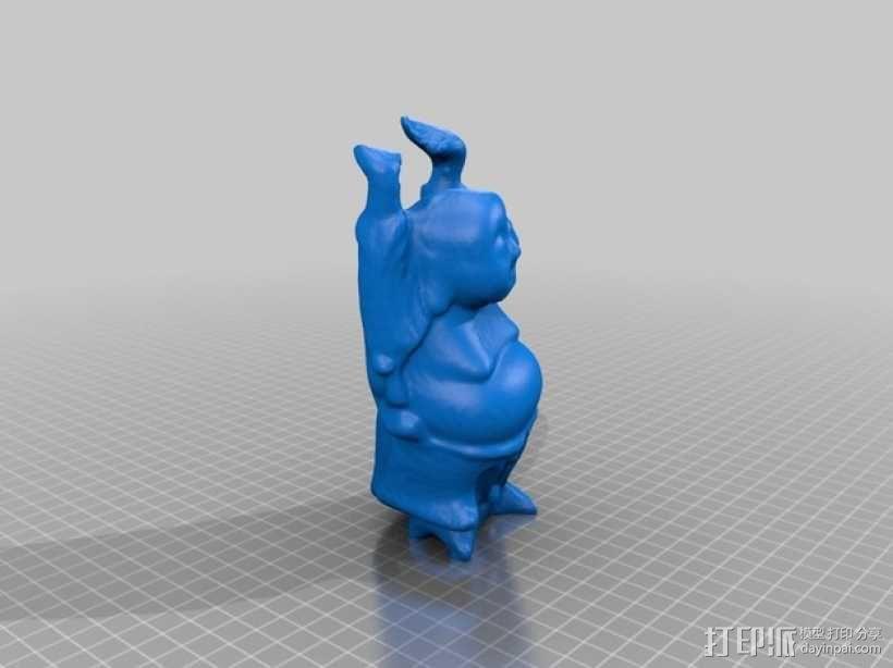 佛像 雕塑 3D模型  图2
