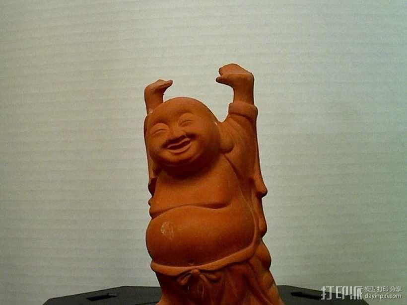 佛像 雕塑 3D模型  图1