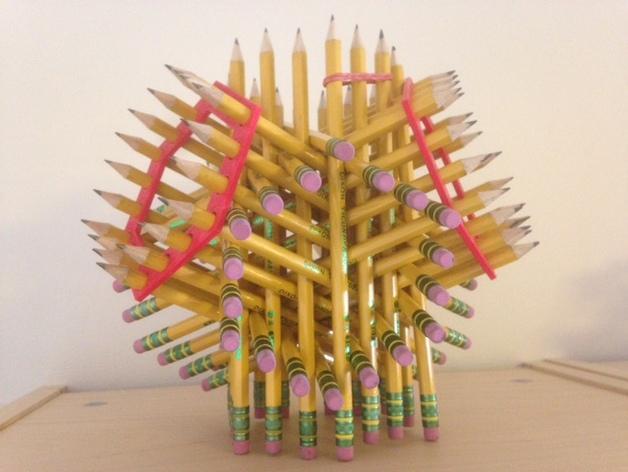 铅笔架 3D模型  图1