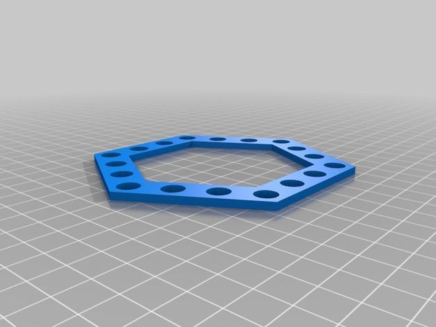 铅笔架 3D模型  图3