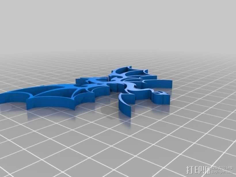 龙 3D模型  图2