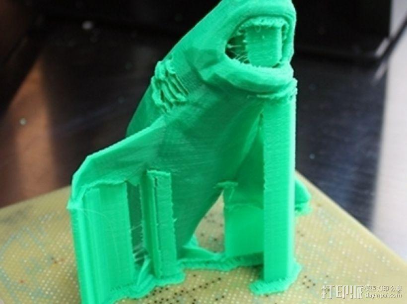 大白鲨 模型 3D模型  图11