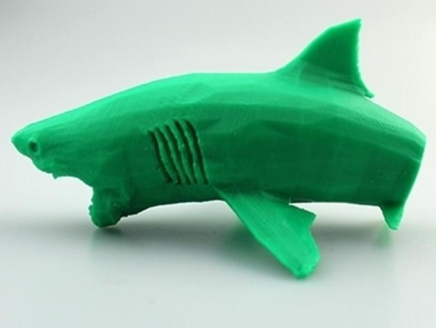 大白鲨 模型 3D模型  图9