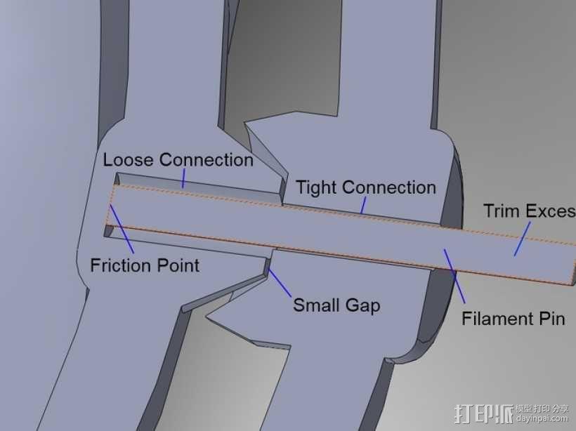 回转仪 3D模型  图3