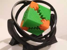 回转仪 3D模型