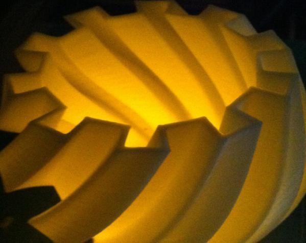 扭曲的齿轮花瓶 3D模型  图7