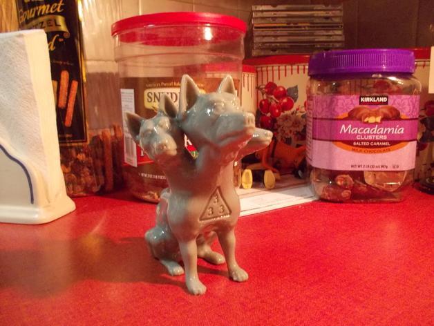 地狱犬 雕塑 3D模型  图5
