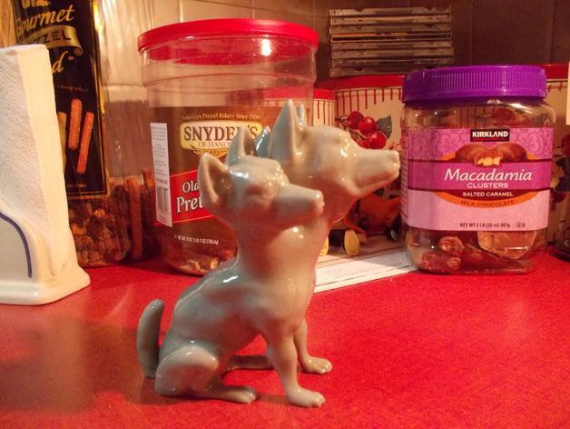 地狱犬 雕塑 3D模型  图3