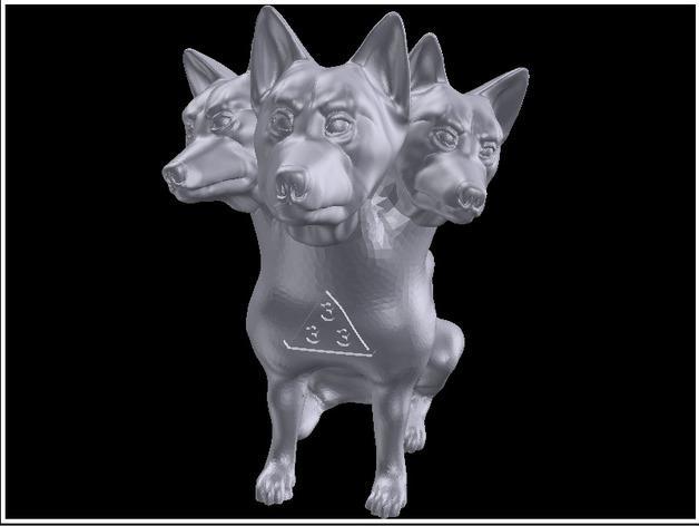 地狱犬 雕塑 3D模型  图8