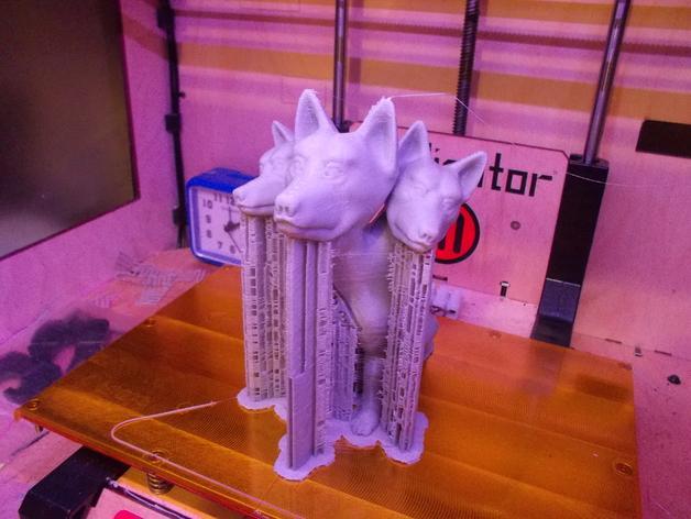 地狱犬 雕塑 3D模型  图7