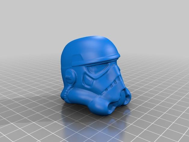 突击队员 雕塑 3D模型  图2