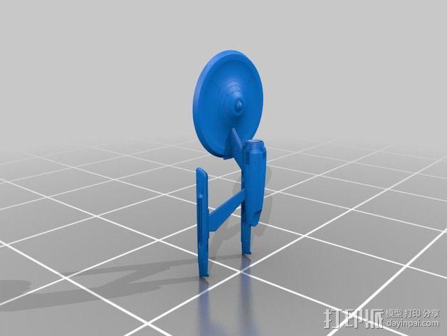星际迷航 飞行器 模型 3D模型  图2