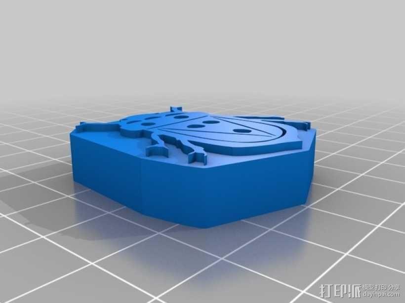 图章 3D模型  图3