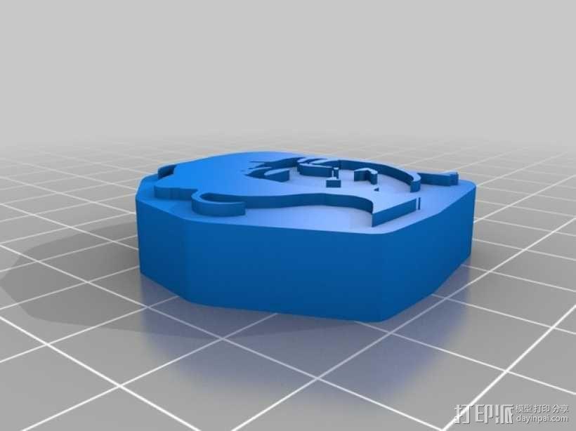 图章 3D模型  图4