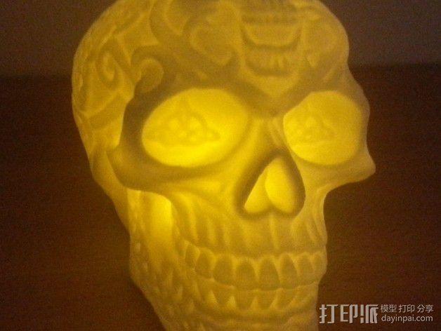 凯尔特头骨 模型 3D模型  图2