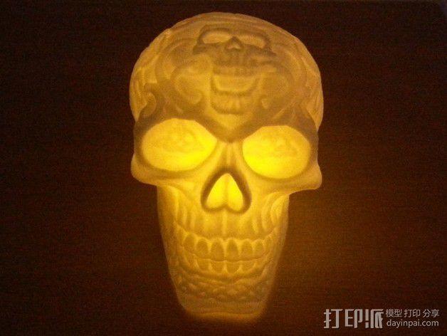 凯尔特头骨 模型 3D模型  图1