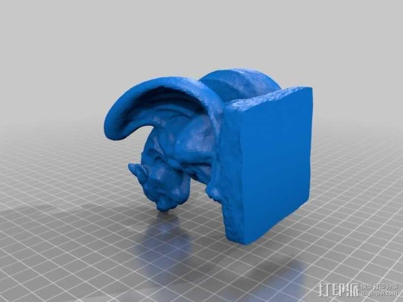 石像怪模型 3D模型  图2