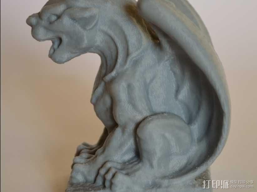 石像怪模型 3D模型  图7