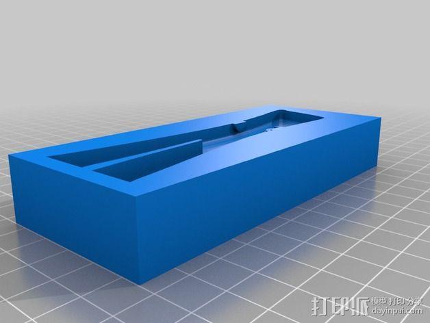 小绿人Gumby 3D模型  图3