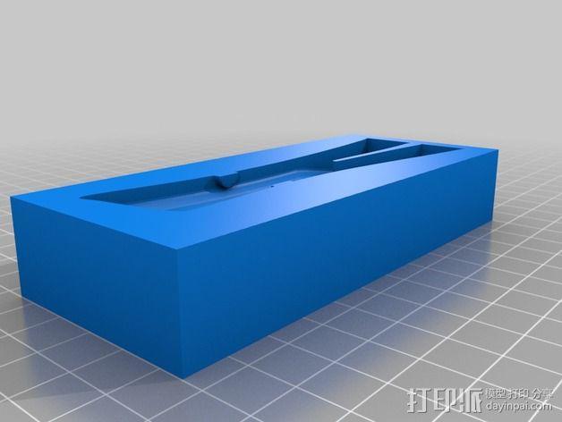 小绿人Gumby 3D模型  图2