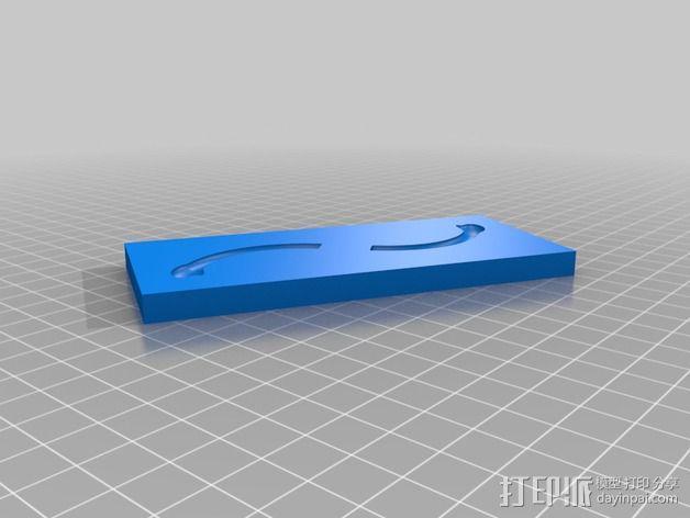 小绿人Gumby 3D模型  图5