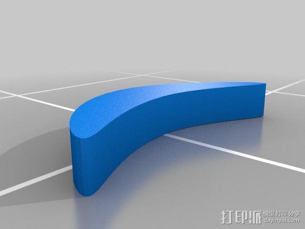 小绿人Gumby 3D模型  图7