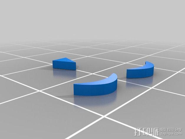 小绿人Gumby 3D模型  图6