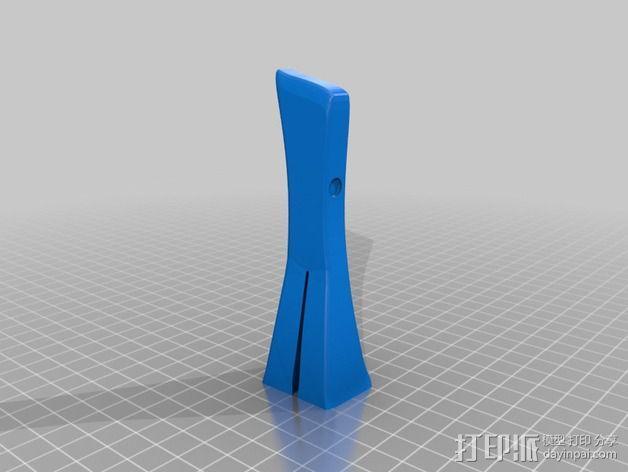 小绿人Gumby 3D模型  图9